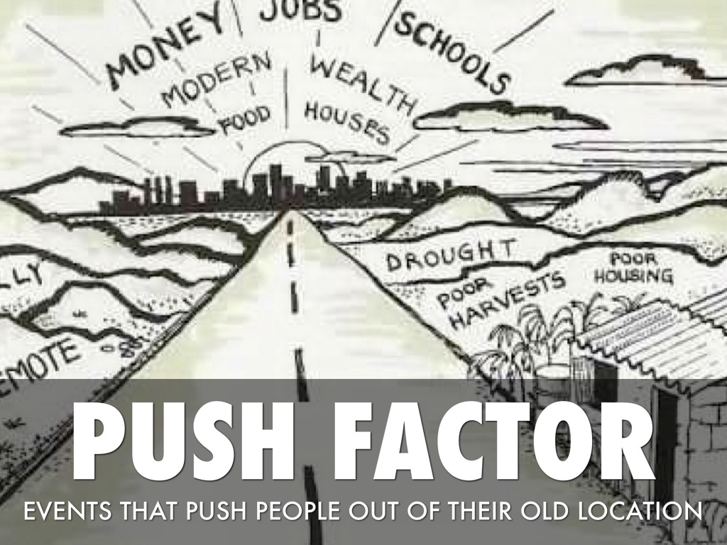 push and pull factor scotland What were some push factors of ireland  the most famous push and pull factor in european history was that related to the industrial revolution  history of scotland history of spain.