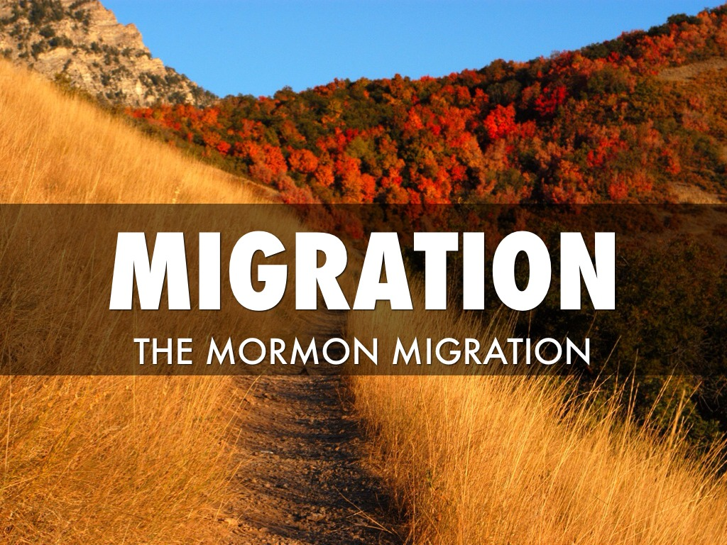 mormon migration Mormon migration to utah - free definition results from over 1700 online dictionaries.