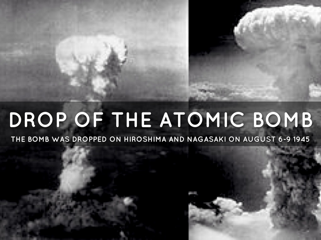 the factors affecting the decision to drop the atomic bombs One of the great historical arguments of the late-20th century was whether the decision to use the atomic bomb was justified or not, and what the real goals of its use were.