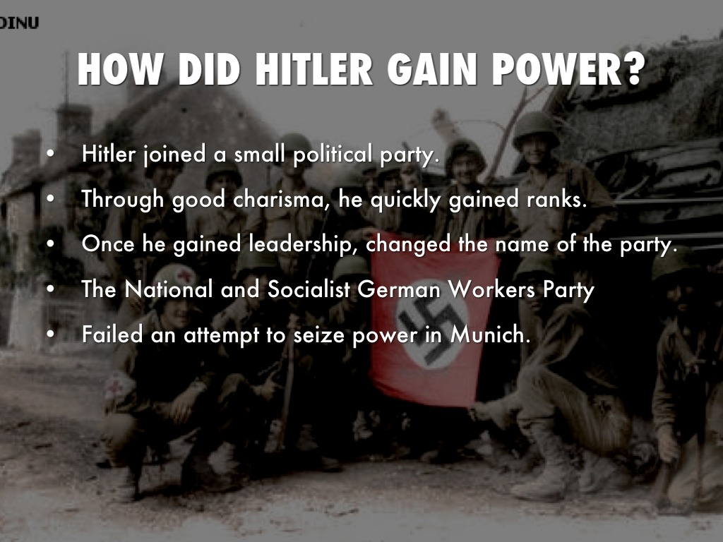 hitlers silent rise to power Hitler: the rise of evil is a canadian  's influence on hitler's rise to power  government in berlin and that hitler must remain silent or else his party.