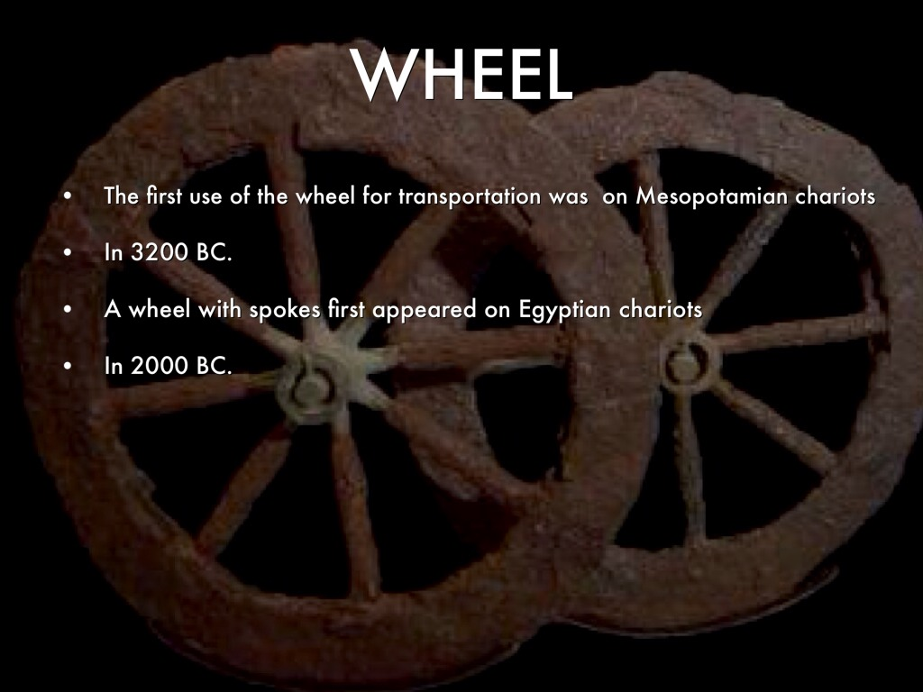 invention of the wheel impact The wheel had many uses so the invention came to great use pottery their daily use inventions were very important.