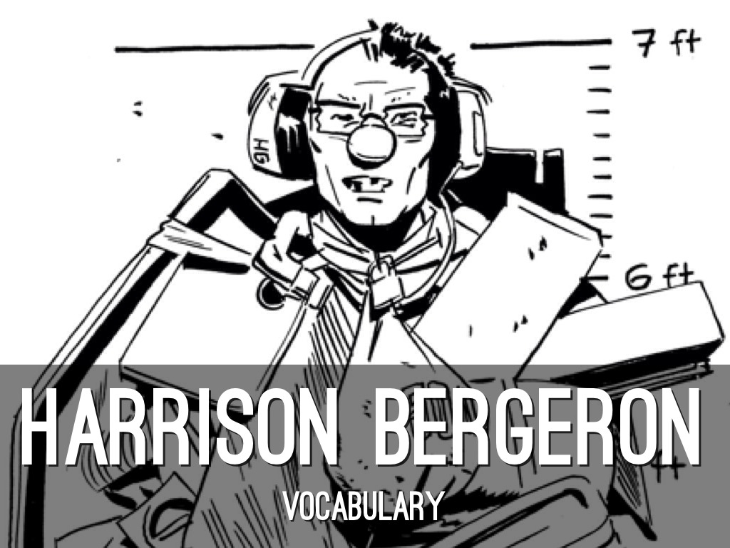 an analysis of the story harrison bergeron by kurt vonnegut jr Harrison bergeron is a very interesting short story, written by kurt vonnegut jr, about the future of society in the year, 2081 the plot, structure, and word choice.