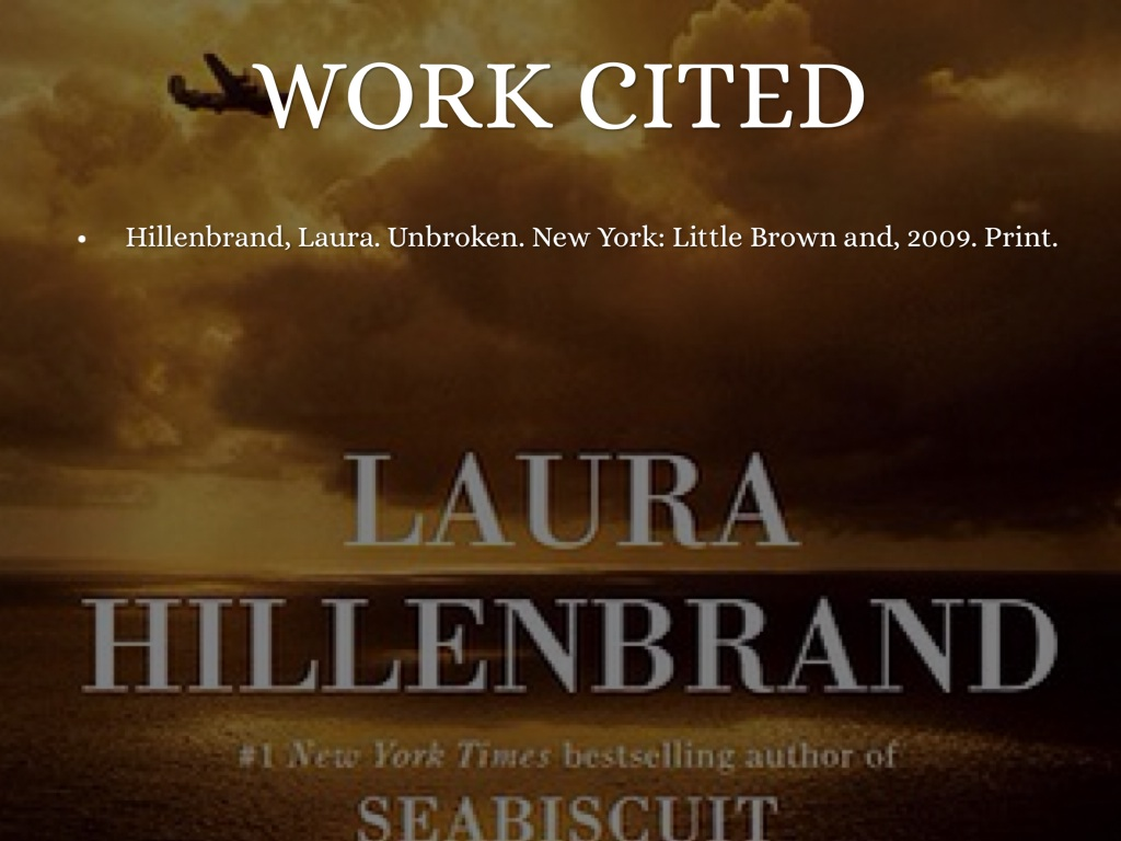 unbroken hillenbrand's argument As she prepares to release unbroken — her film based on the you had the coens adapt laura hillenbrand's drunk during the trip and got into an argument with.