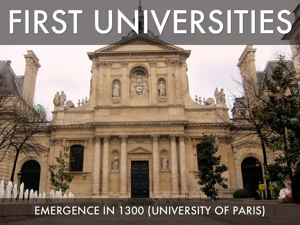 medieval universities