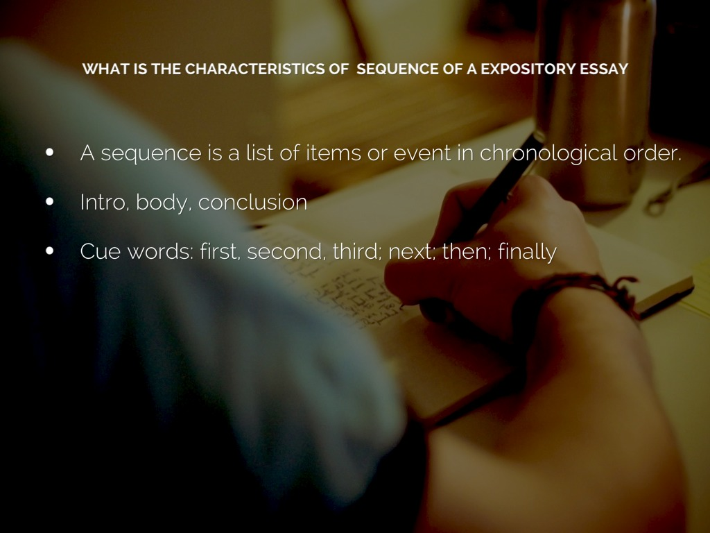 5 characteristics of a process essay Characteristics of culture: (1) culture is defined as the process through which human beings 9 most important characteristics of an institution essay on.