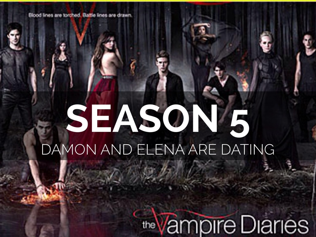 is damon dating elena in real life