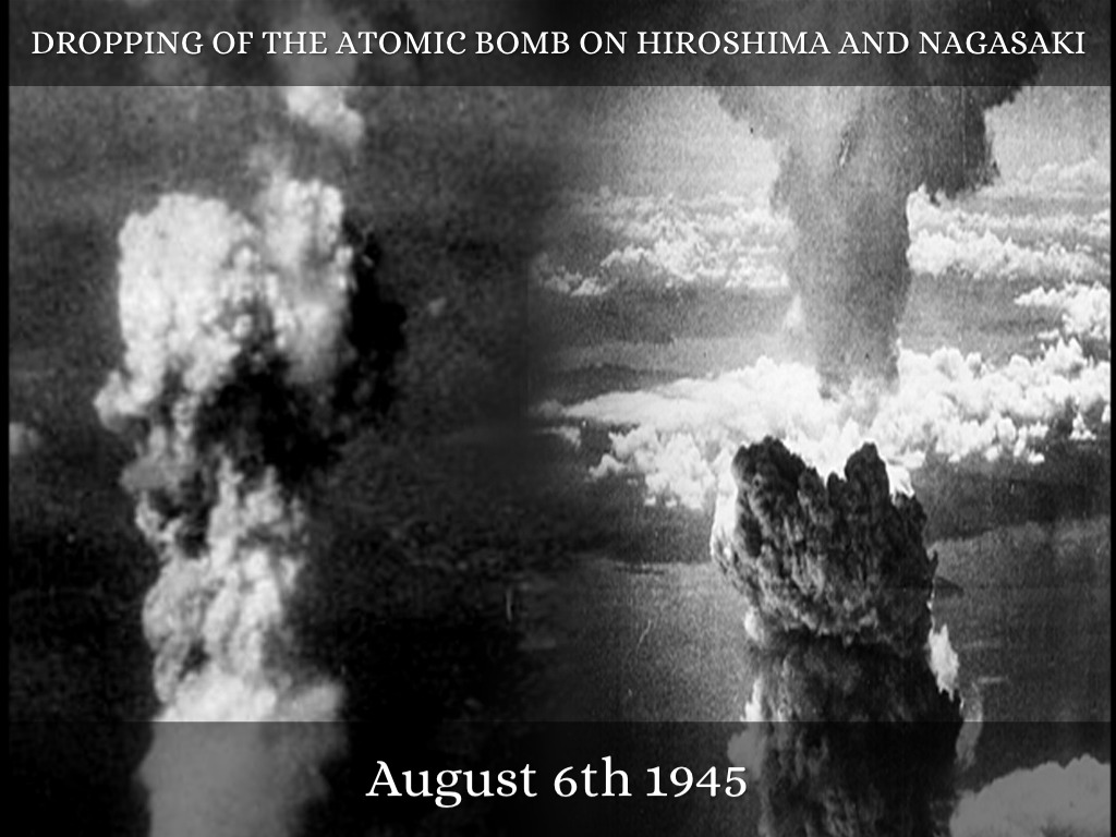 an evaluation of the necessity of the dropping of the atomic bombs on hiroshima and nagasaki The news of the successful development of the atomic bomb tightened trumans response to russian diplomacy the necessity of the bomb for economic reasons was to help end the war before the united states spent bombs were finally dropped on hiroshima and nagasaki, two cities in japan.