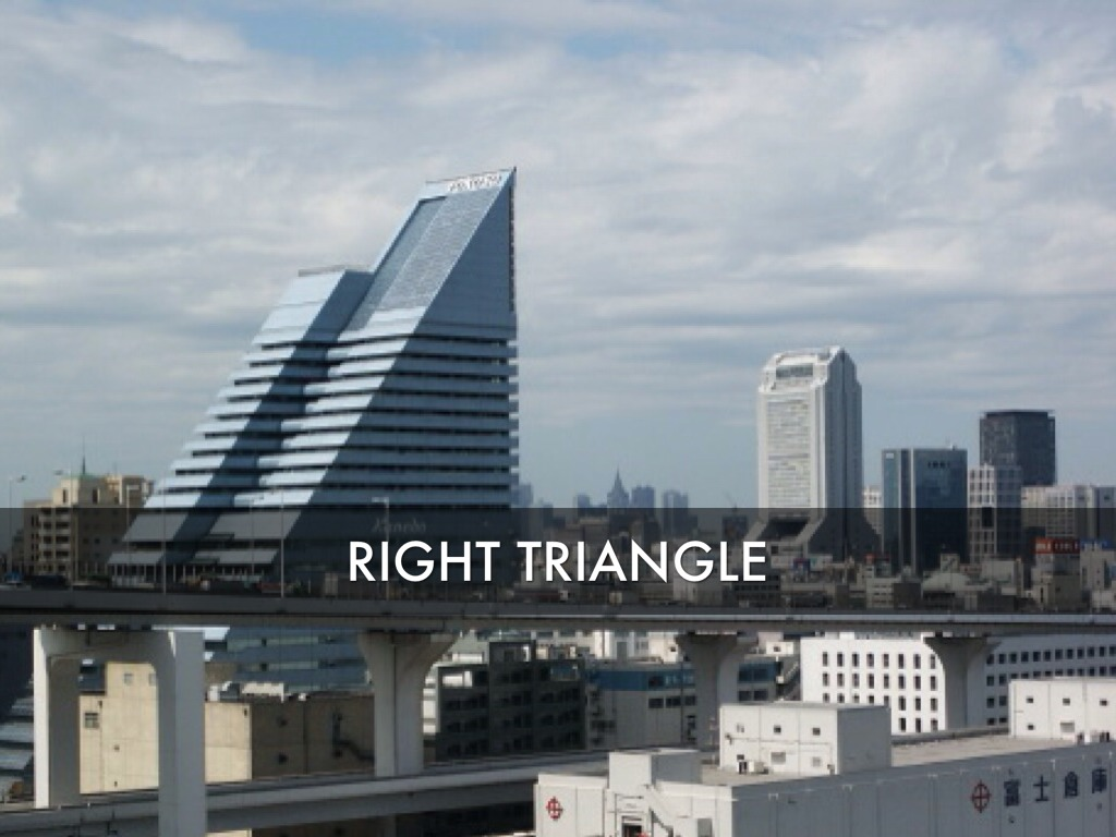 Right Triangle Building Images