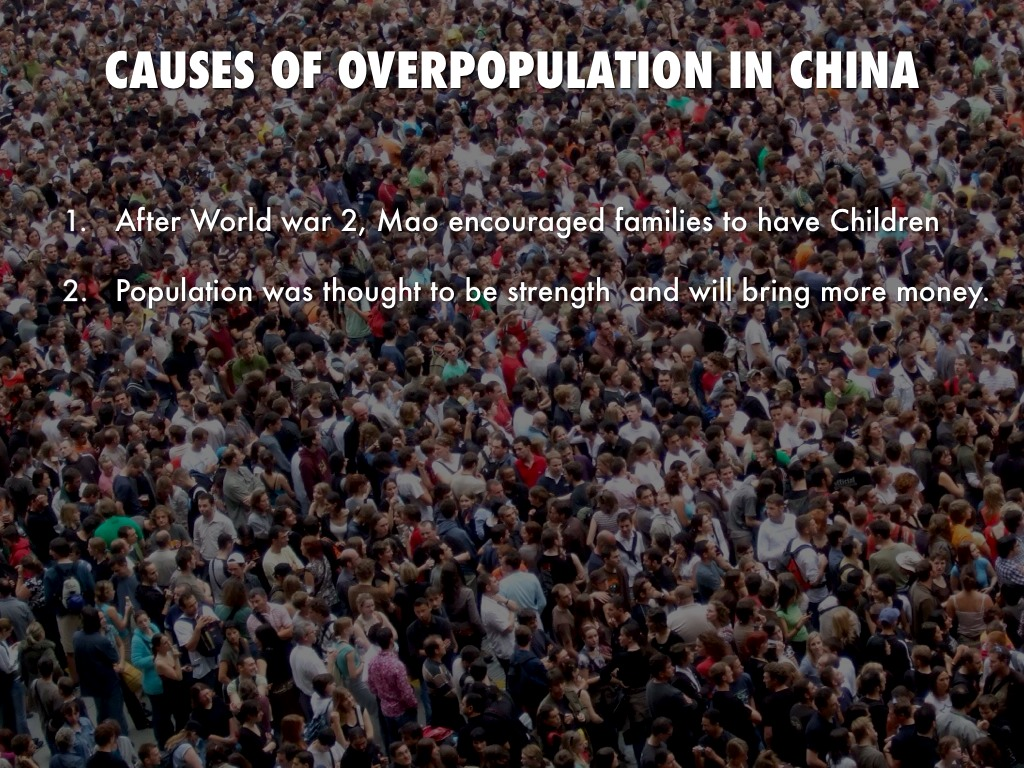 effect of overpopulation in and solution by untitled slide
