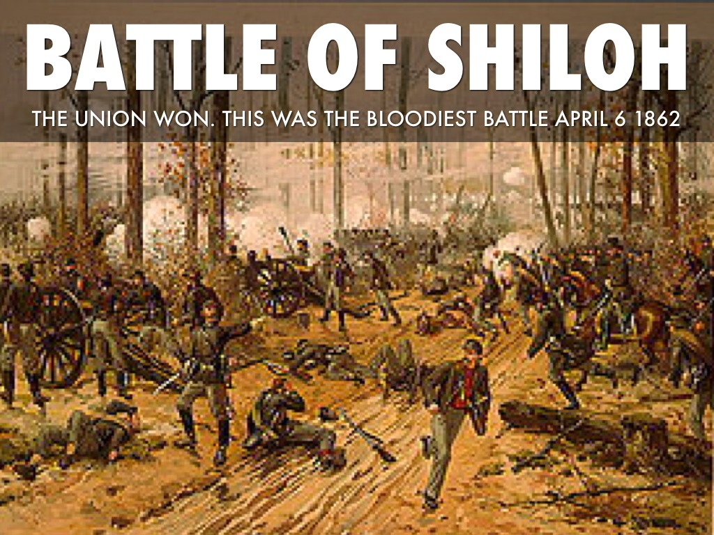 battle of shiloh the bloodiest and deadliest battle of the civil war The battle of shiloh produced (officially) 23,746 casualties out of 109,784 soldiers engaged the first large scale battle of the war, shiloh's horrific casualty list took the north and south by surprise shiloh would also become the sixth deadliest battle of the civil war.