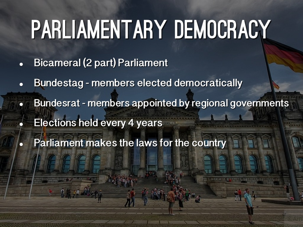 parliament and democracy What are the main differences between the parliamentary system of government versus the presidential system for example, germany's parliamentary system versus mexico's presidential system.
