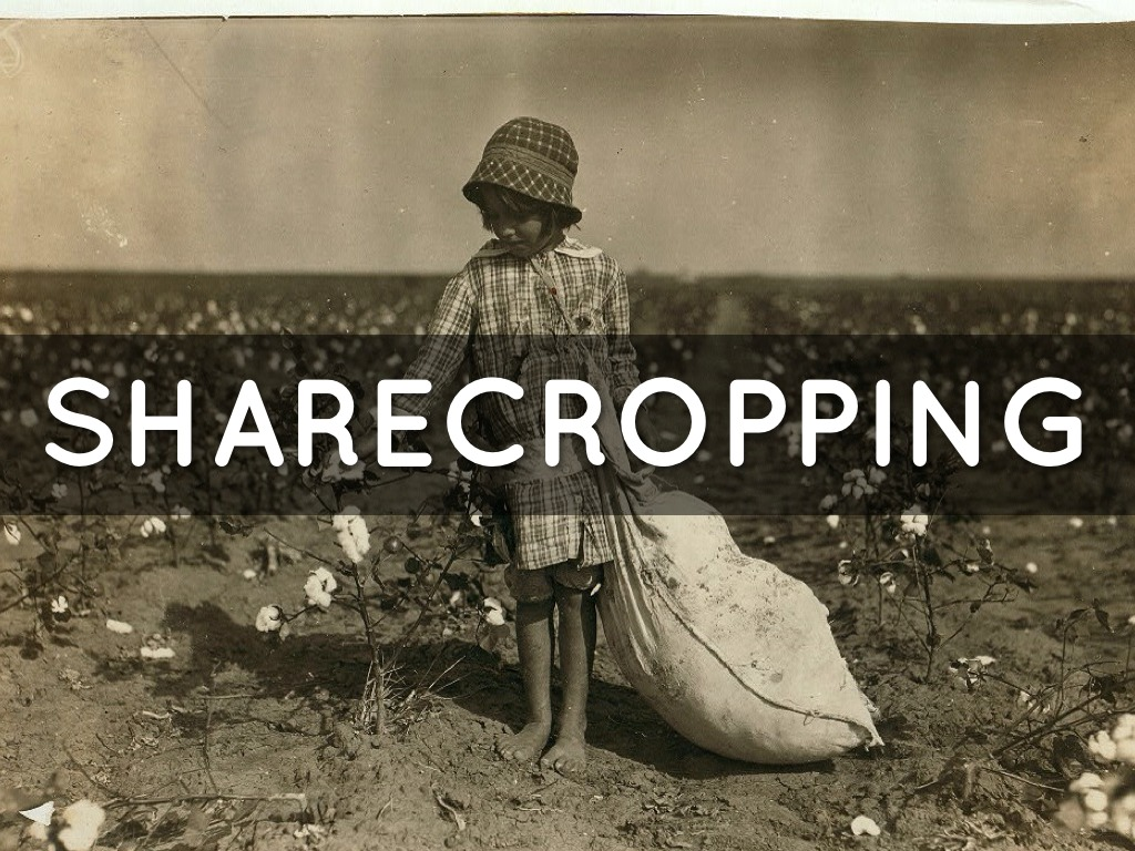 Sharecropping and Tenant Farming in Alabama