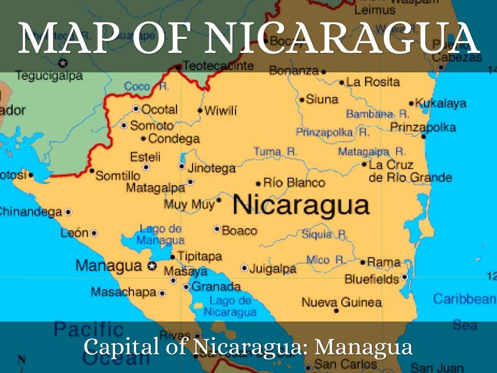 Nicaragua By Ashley Milliman - Nicaragua map hd