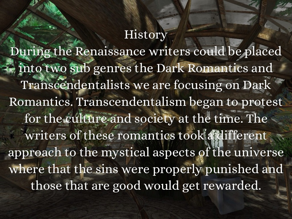 what is a dark romantic