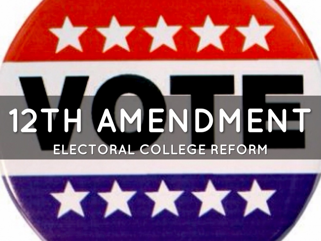 the twelfth amendment Let's say you're an undecided voter just weeks away from one of the most  polarized elections in recent us history it's a very real scenario for.