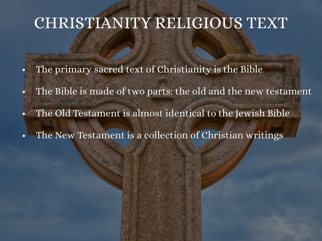 the bible and jewish sacred texts Ethical monotheism is central in all sacred or normative texts of judaism however, monotheism has not always been followed in practice the jewish bible.