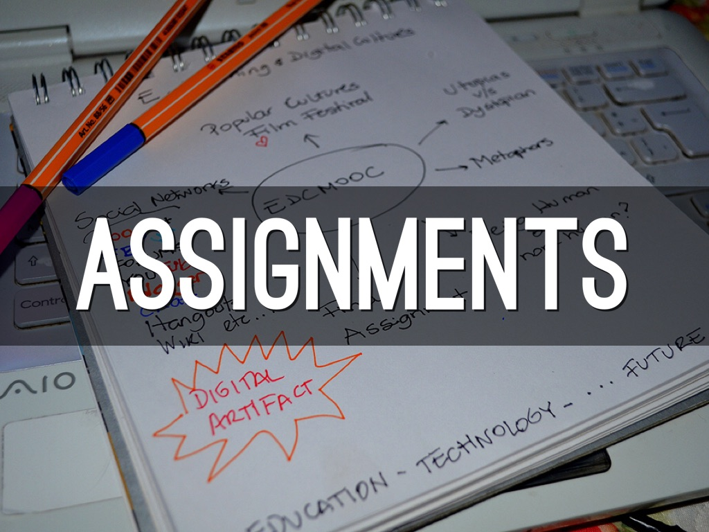 assigments The art assignment is a weekly pbs digital studios production hosted by curator sarah urist green we explore art and art history through the lens of things.