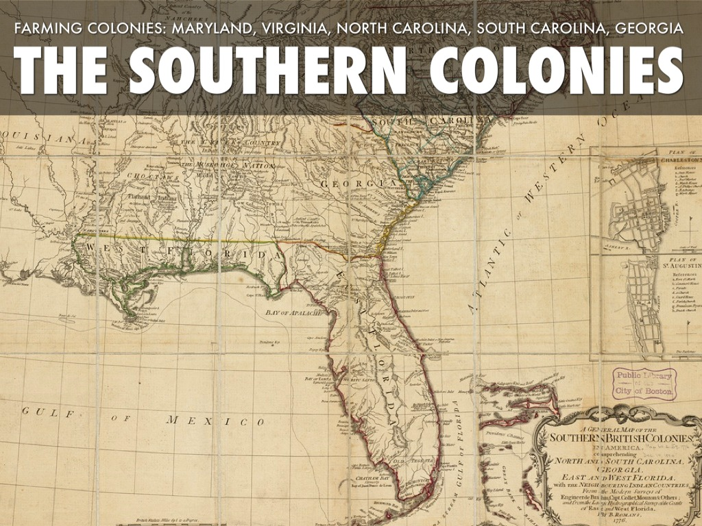 The Southern Colonies by epf2000