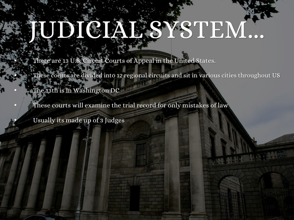 french judicial system French law: in france the as under the french system judicial review in judicial review in france judicial review must take place in the abstract.