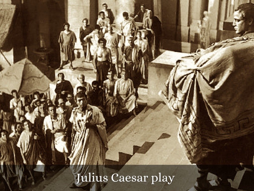 the character of marc antony in the play julius caesar