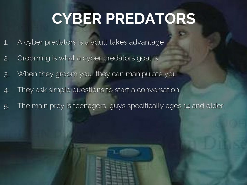 cyber predators The fbi is the lead federal agency for investigating cyber the fbi's online predators and child sexual long before cyber crime was acknowledged.