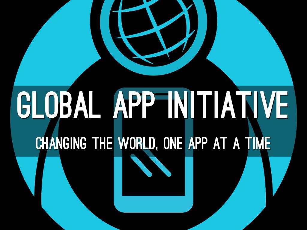 Global App Initiative ComSciCon