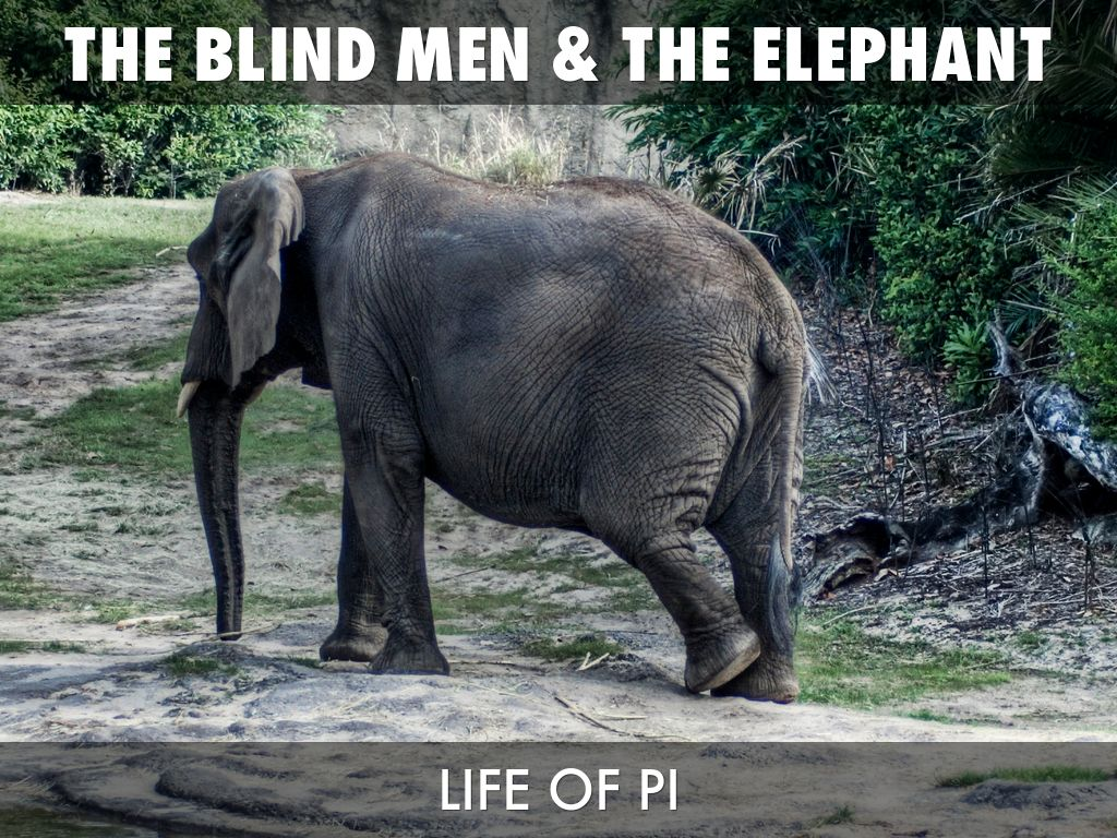 the blind men and the elephant - HD1024×768