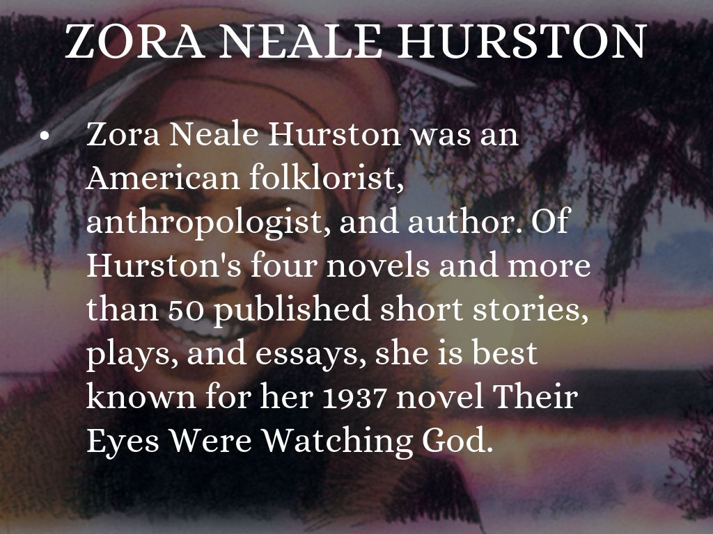 "an analysis of the short story sweat by zora neale hurston Essay on foreshadowing and irony in ""sweat"" by zora neale hurston 734 words 
