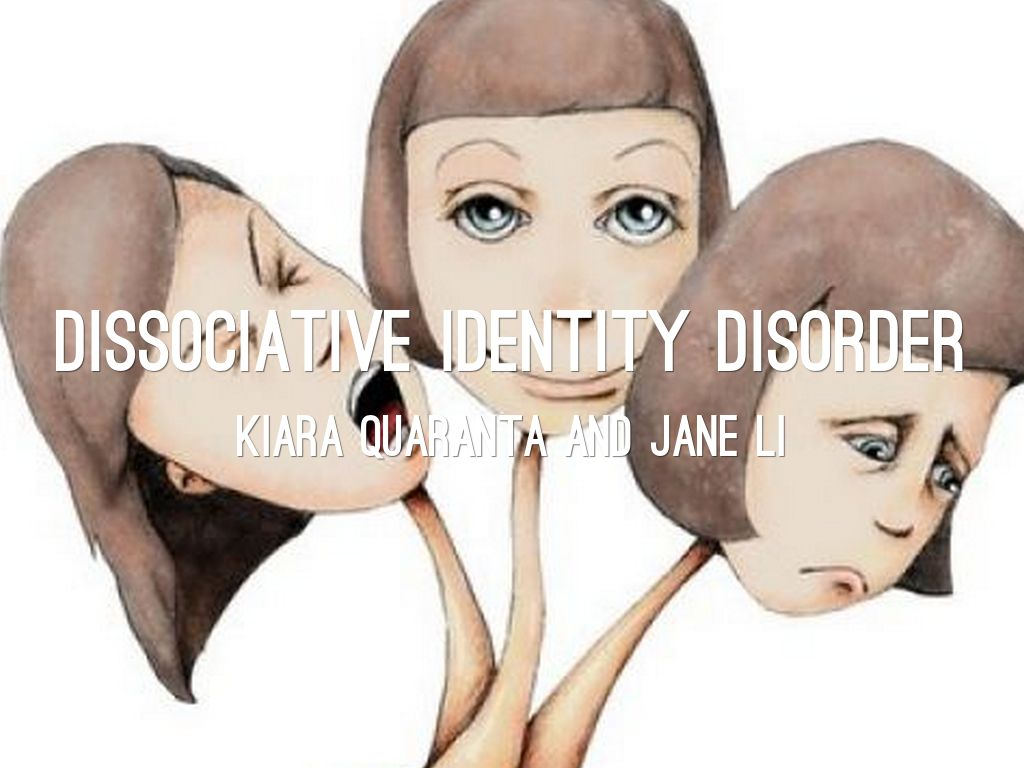 outline for dissociative disorder Dissociation is a mental process of disconnecting from one's thoughts, feelings, memories or sense of identity the dissociative disorders that need professional treatment include dissociative amnesia, dissociative fugue, depersonalisation disorder and dissociative identity disorder most mental.
