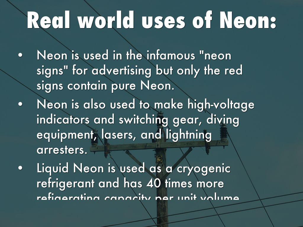 High Voltage Indicators Neon