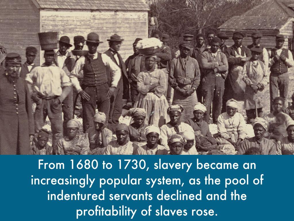 slavery 1600 1800