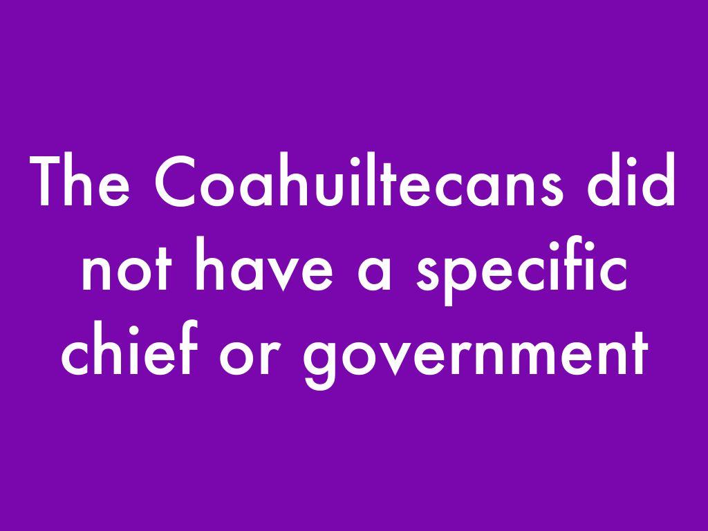 coahuiltecans by laura flanagan