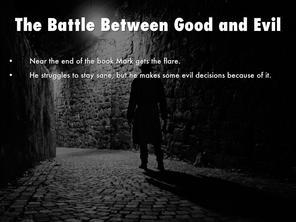 battle between good and evil in The battle between good and evil in zoroastrianism.