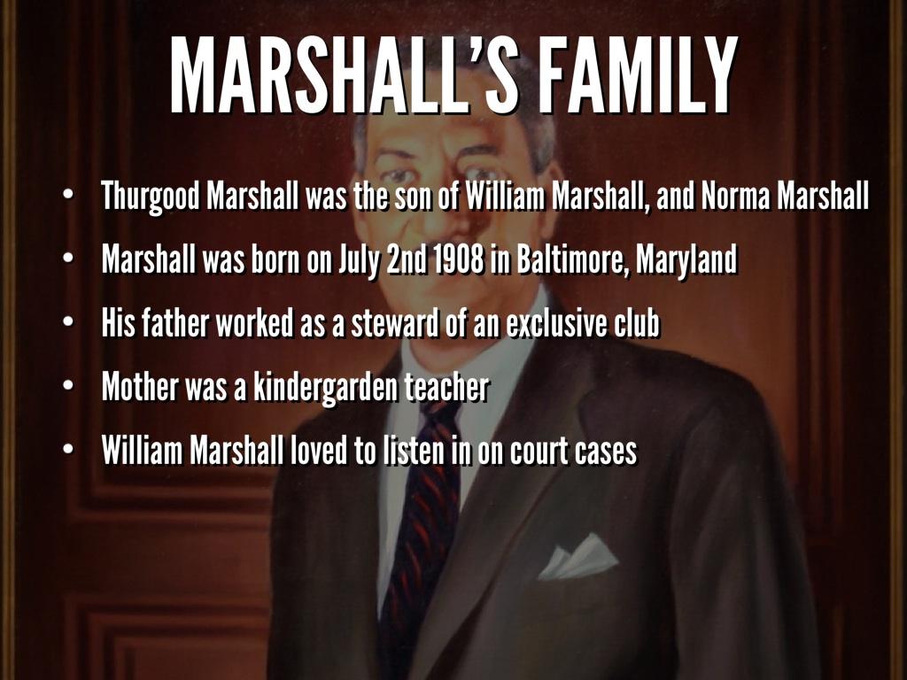 thurgood marshall essay