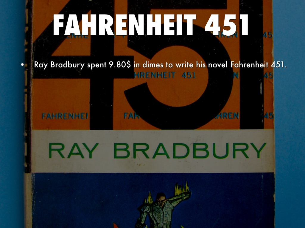 a review of ray bradburys novel fahrenheit 451 Ray bradbury's internationally acclaimed novel fahrenheit 451 is a masterwork of twentieth-century literature set in a bleak, dystopian future ray bradbury's internationally acclaimed novel fahrenheit 451 is a masterwork of twentieth-century literature set in a bleak, dystopian future.