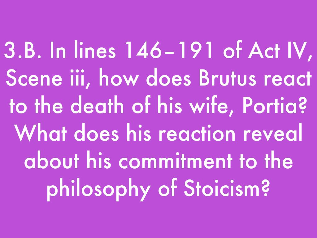brutus stoicism Get everything you need to know about marcus brutus in julius caesar analysis, related quotes, timeline.