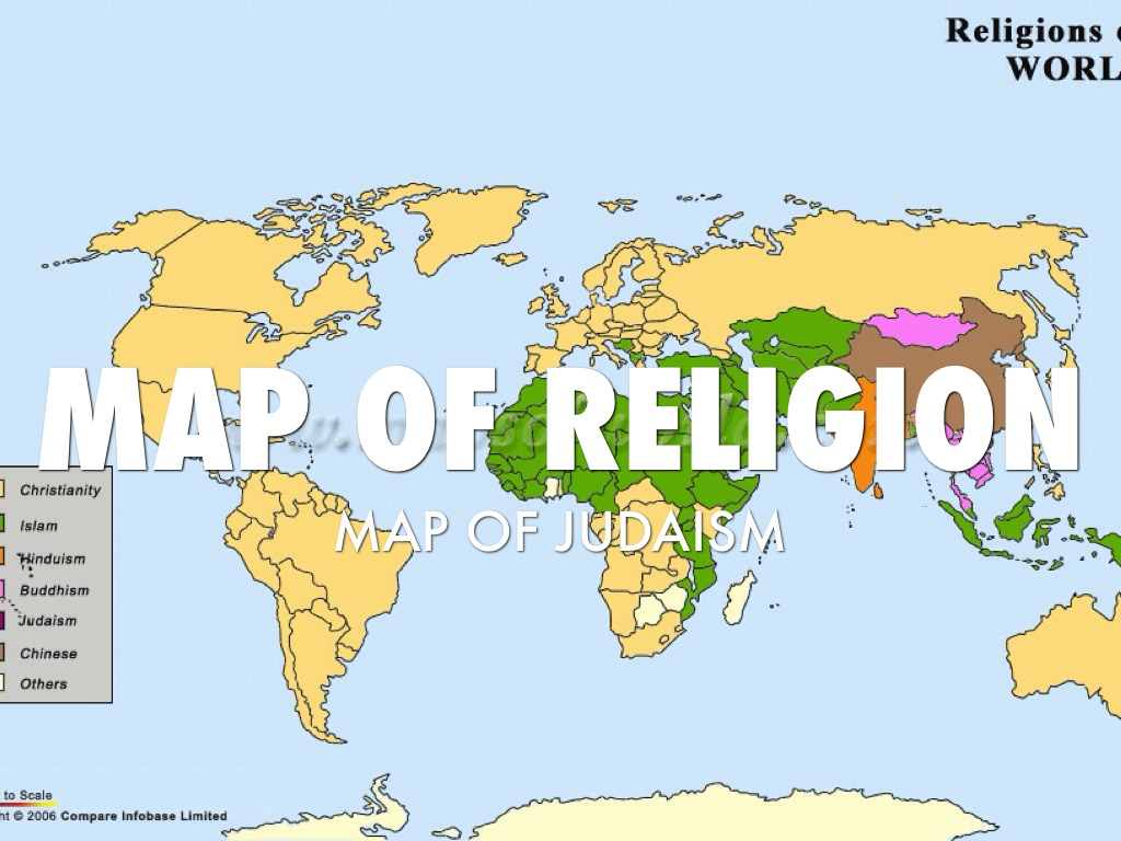 map of religion