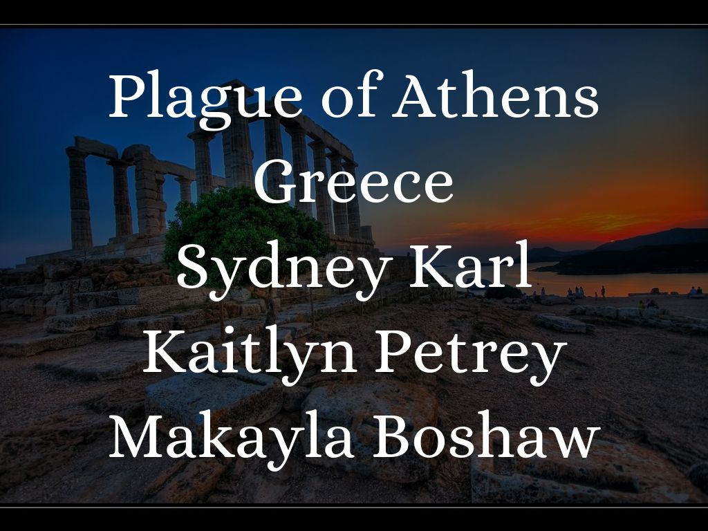 Plague Of Athens