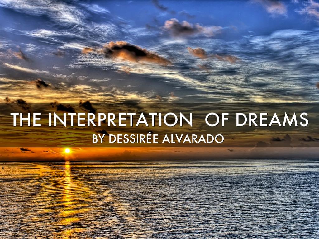 Interpretation Of The Dreams