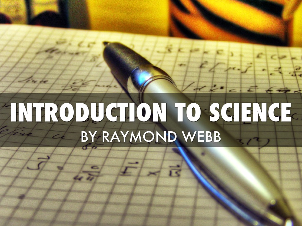 intro to science
