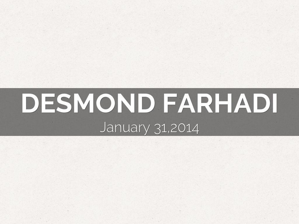 Desmond Farhadi
