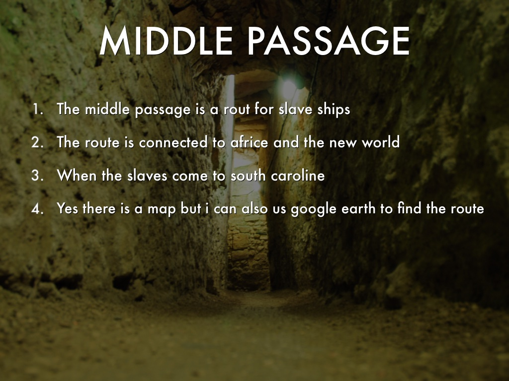Middle Passage by Devyon Rashad