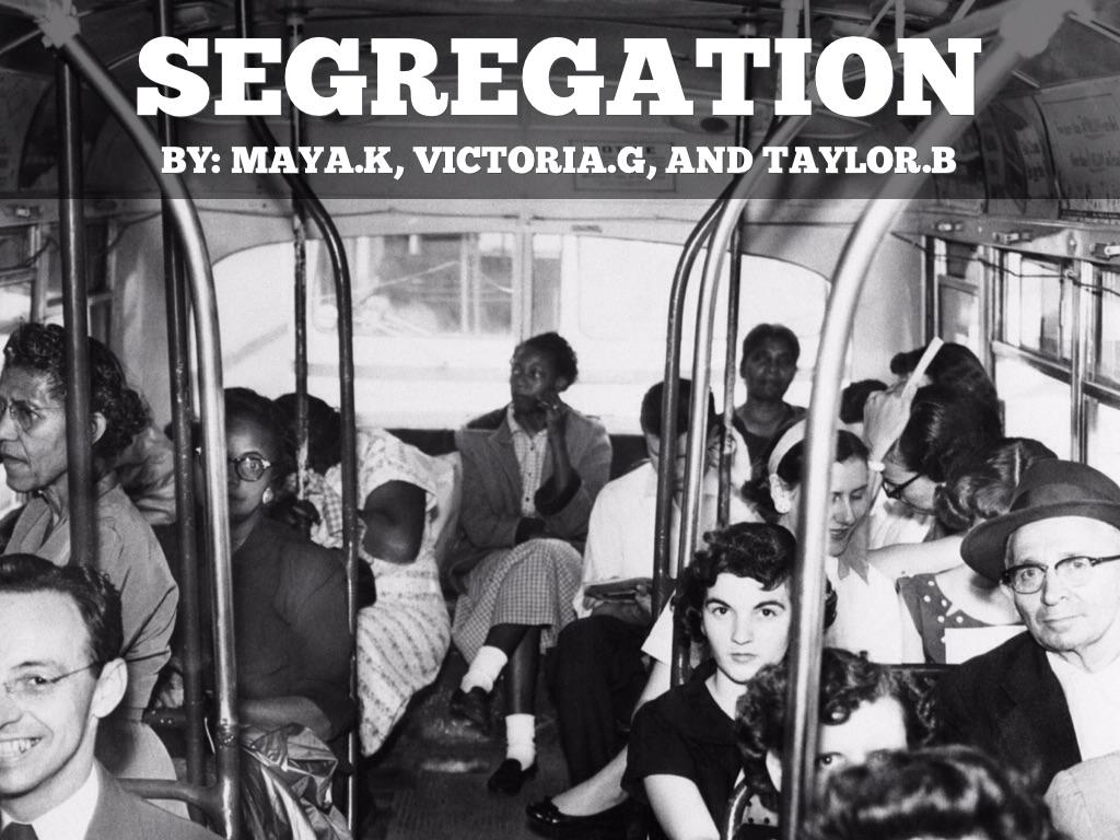 copy of segregation by taylor broyles