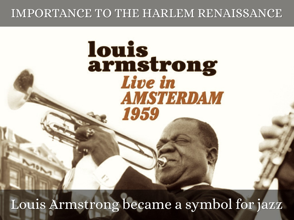 importance of louis armstrong