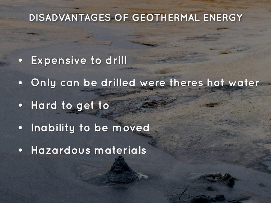 disadvantages of geothermal energy - Primus Green Energy