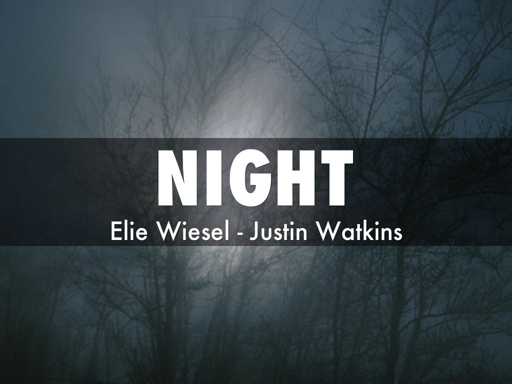 night by elie Find great deals on ebay for night elie wiesel and night elie wiesel hardcover shop with confidence.