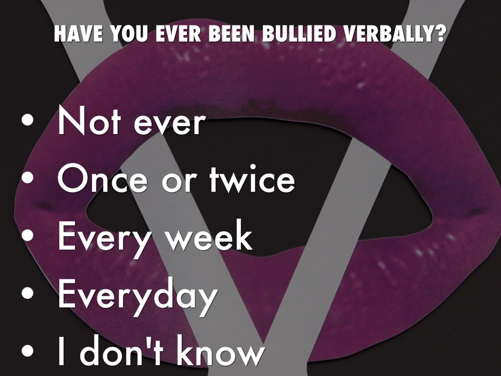 have you ever bullied or been I was bullied at work in my 60s and have decided never to let it happen again as a 'little old lady' i doubt anyone would be violent towards me so will stand my ground.