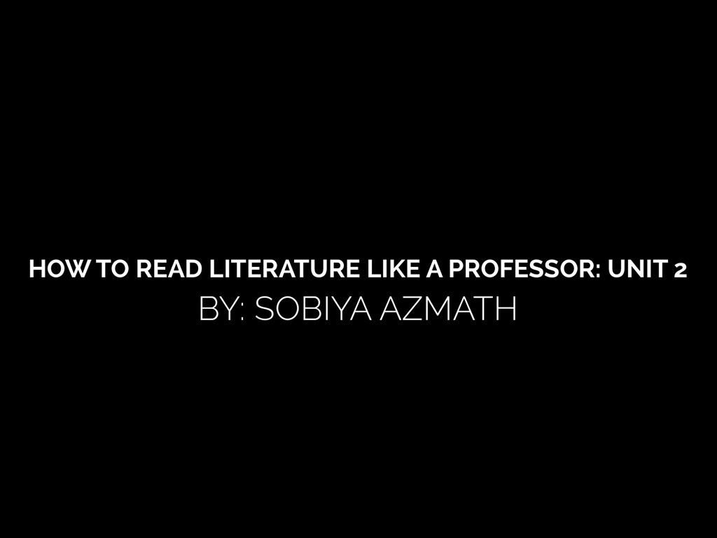 how to read literature like a professor chapter 23 How to read literature like a professor chapter 23 how to read literature like a professor chapter 1: every trip is a quest (except when it's not) in chapter 1 the.