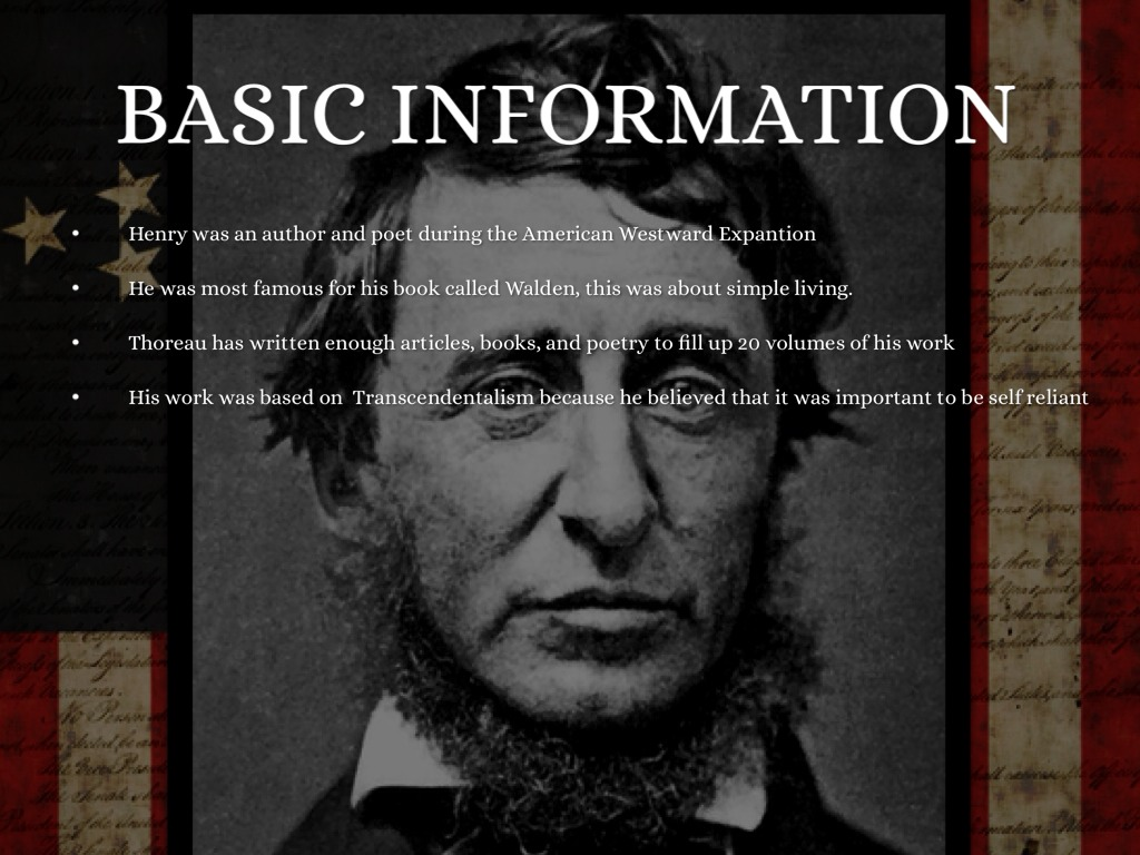the childhood education and literary works of henry david thoreau Bibliography of secondary works on henry david thoreau home |  selected bibliography on henry david thoreau  themes and directions in american literature.
