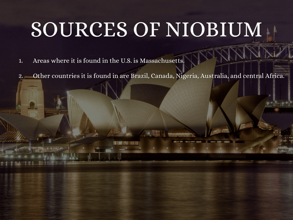 Niobium by jasa scheierman 10 biocorpaavc